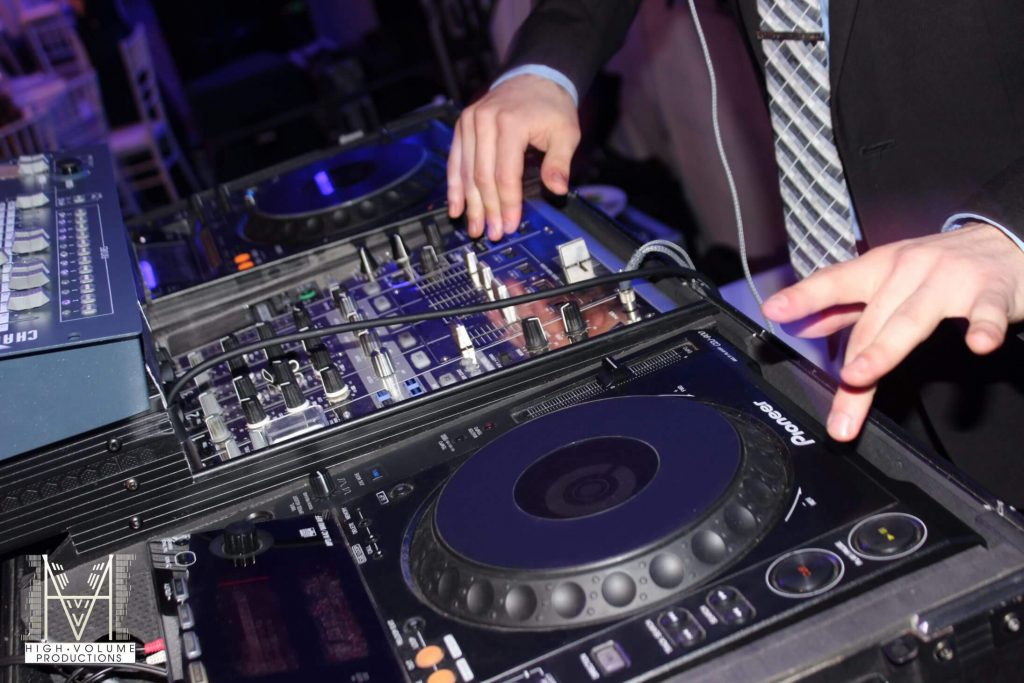 A DJ must have tactical hands to go along with the rhythm of the music