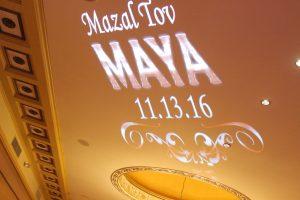 Gobo Name Projector Maya