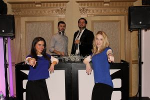 DJ Baturo , MC Dice, along with Party Motivators Sarah and Leah performing at Maya's Bat Mitzvah at Young Israel of Avenue K
