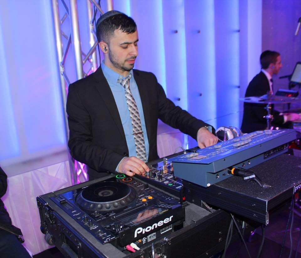 DJ Baturo at Kol Yaakov