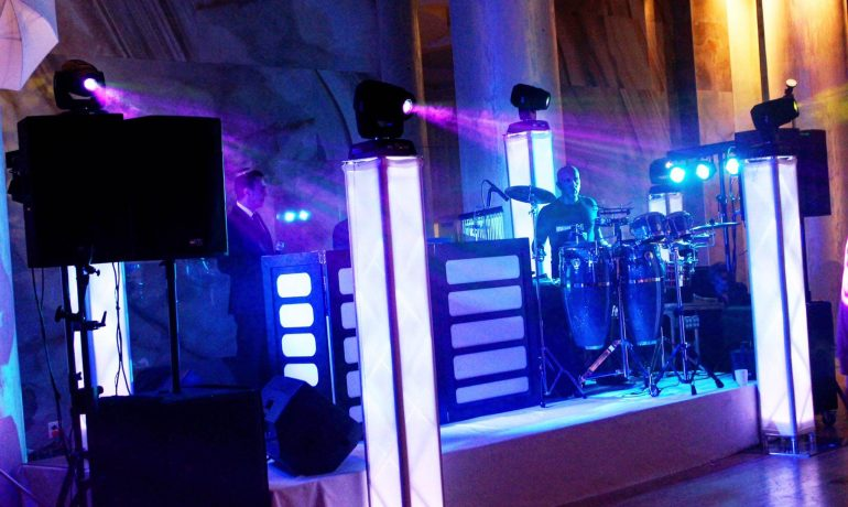 DJ and Lighting at Manhattan Beach Jewish Center Brooklyn NY