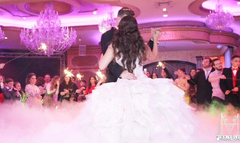Smoke Machine for the bride and groom rental