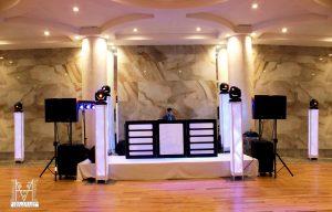 Amazing DJ setups in Manhattan Beach Jewish Center