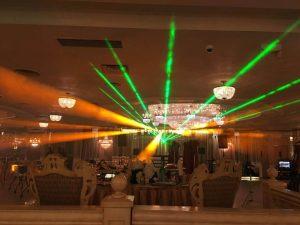Laser at Wedding