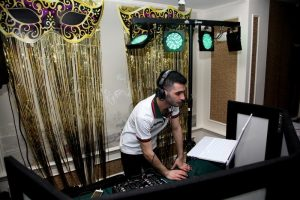 Purim Party for Belev Echad Chabad House