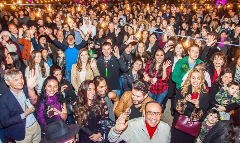 Madison Square Park Chanukkah Party - Jewish Israeli DJ