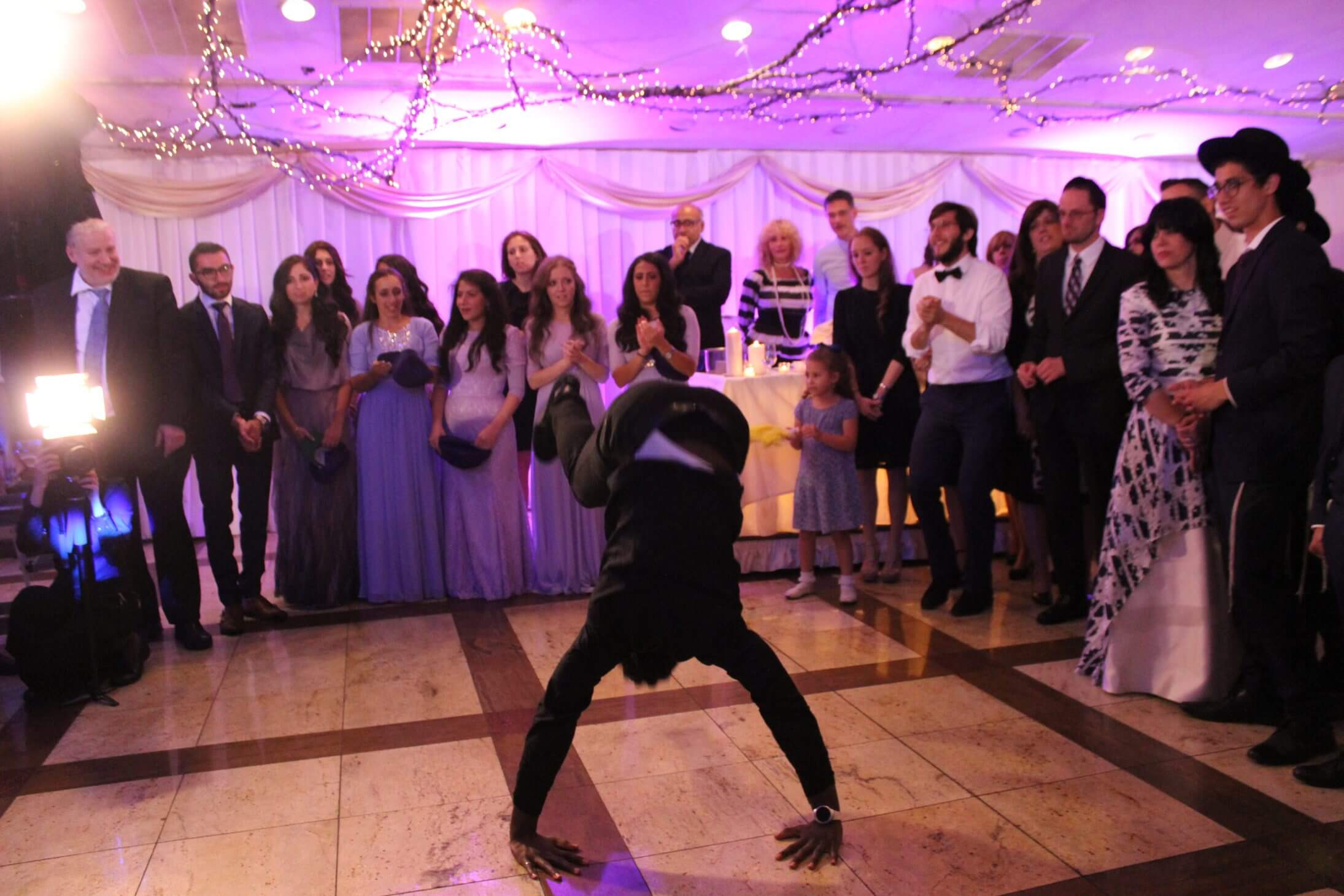 Breakdancer for Weddings