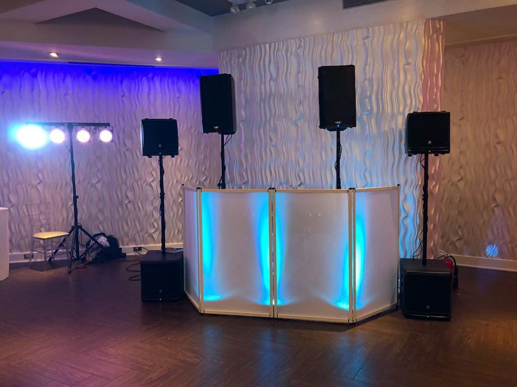 elegant DJ Setups Ohel David and Shlomo Manhattan Beach