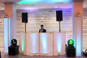 Elegant DJ setup Jewish DJ NYC