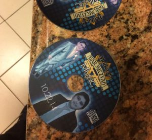 Custom Made CD Giveaways for Bar Mitzvahs