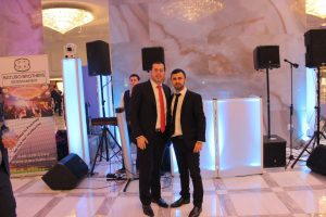 DJ Baturo and Mendy J at Manhattan Beach Jewish Center