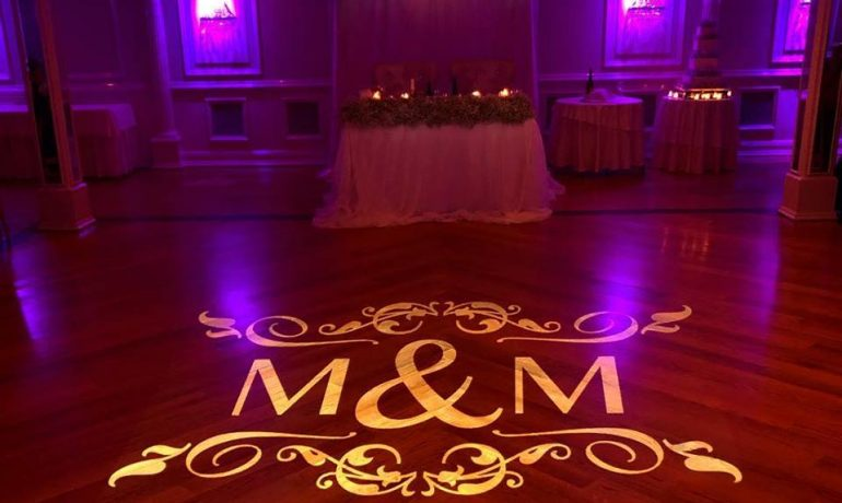 M M Gobo Monogram Projection